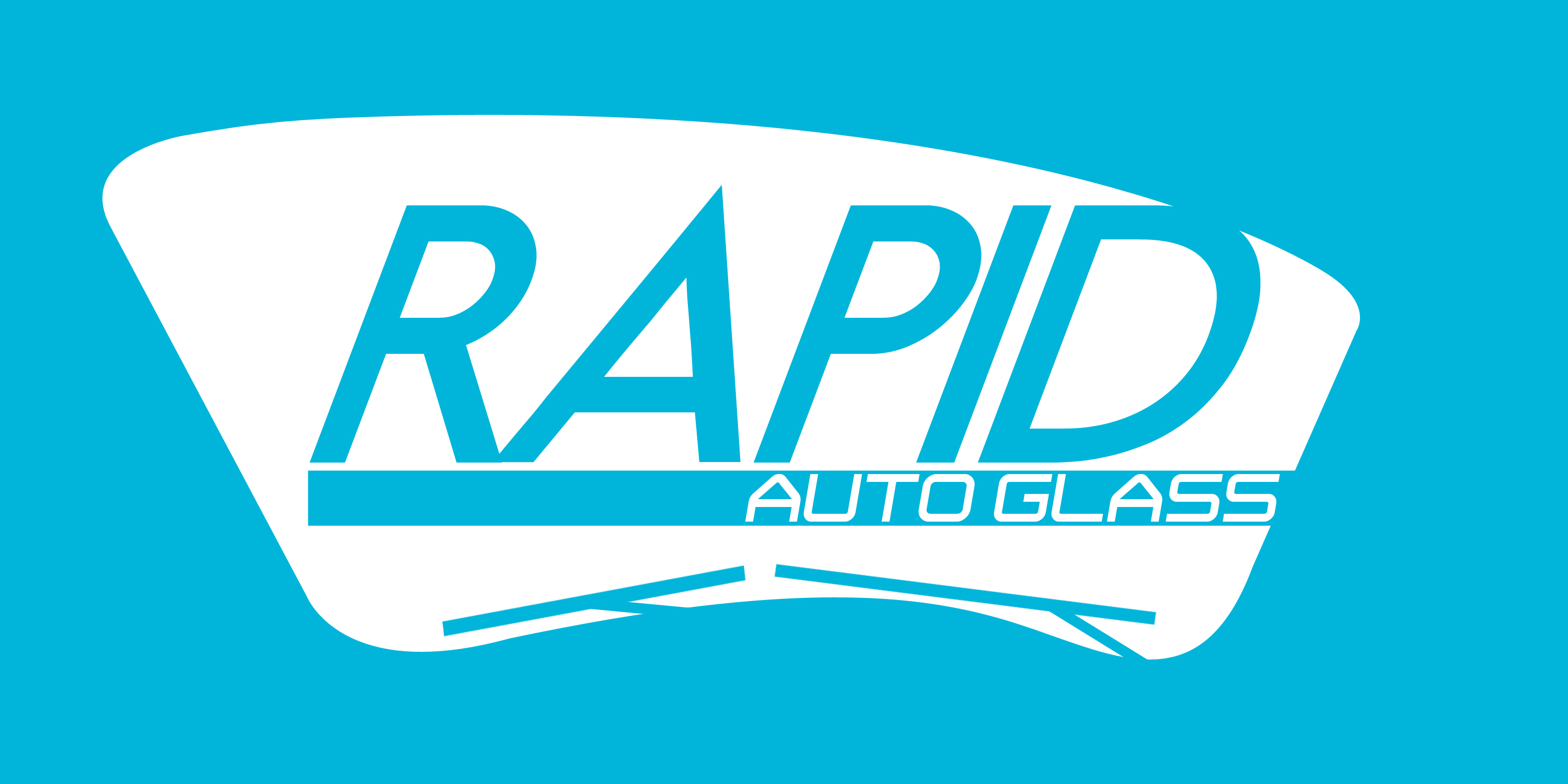 Logo Design by Robin Nuber - Entry No. 122 in the Logo Design Contest Unique Logo Design Wanted for Rapid Auto Glass.