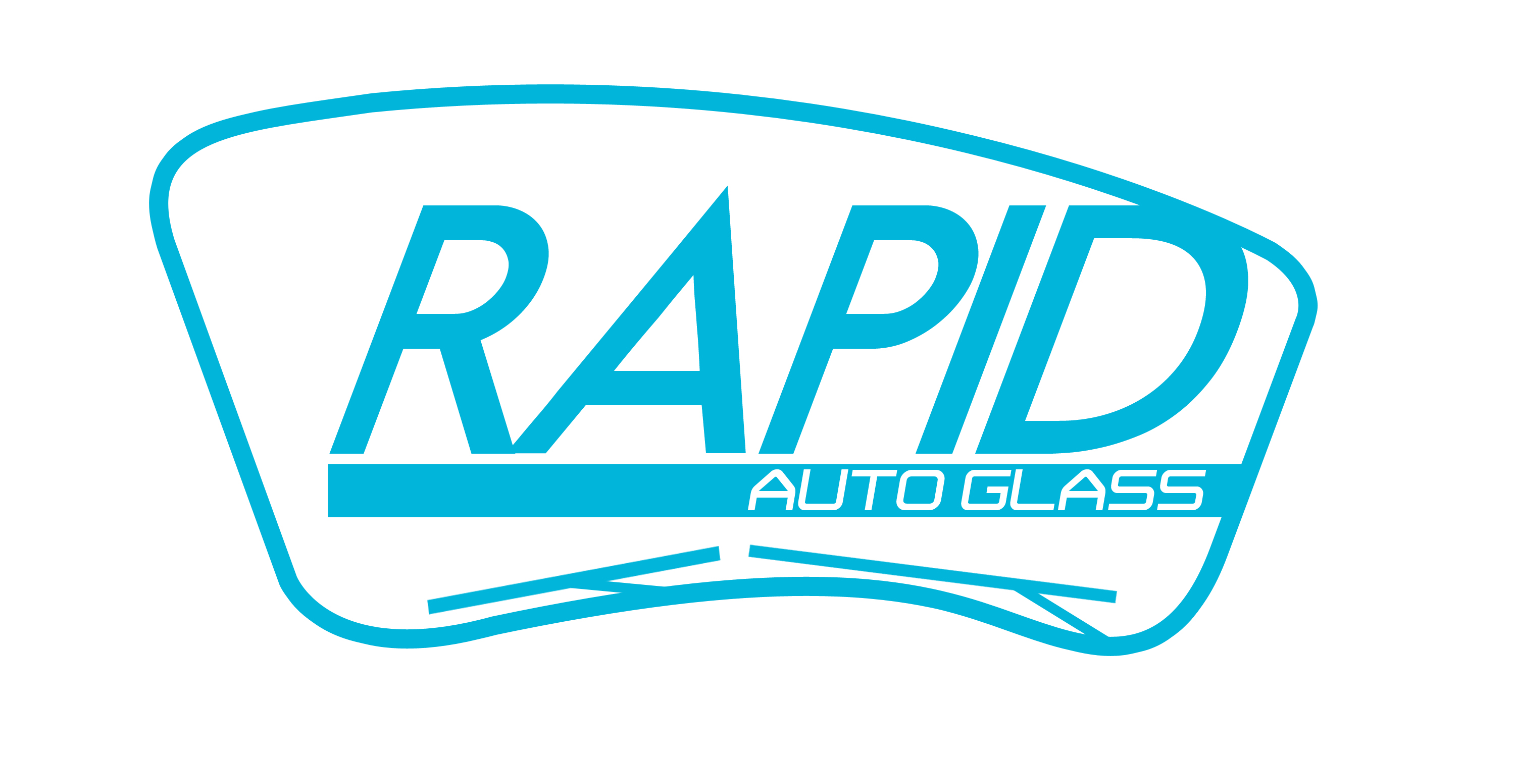 Logo Design by Robin Nuber - Entry No. 123 in the Logo Design Contest Unique Logo Design Wanted for Rapid Auto Glass.