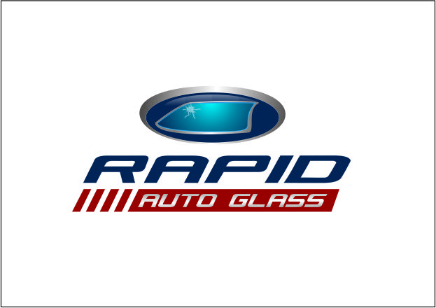 Logo Design by Agus Martoyo - Entry No. 125 in the Logo Design Contest Unique Logo Design Wanted for Rapid Auto Glass.