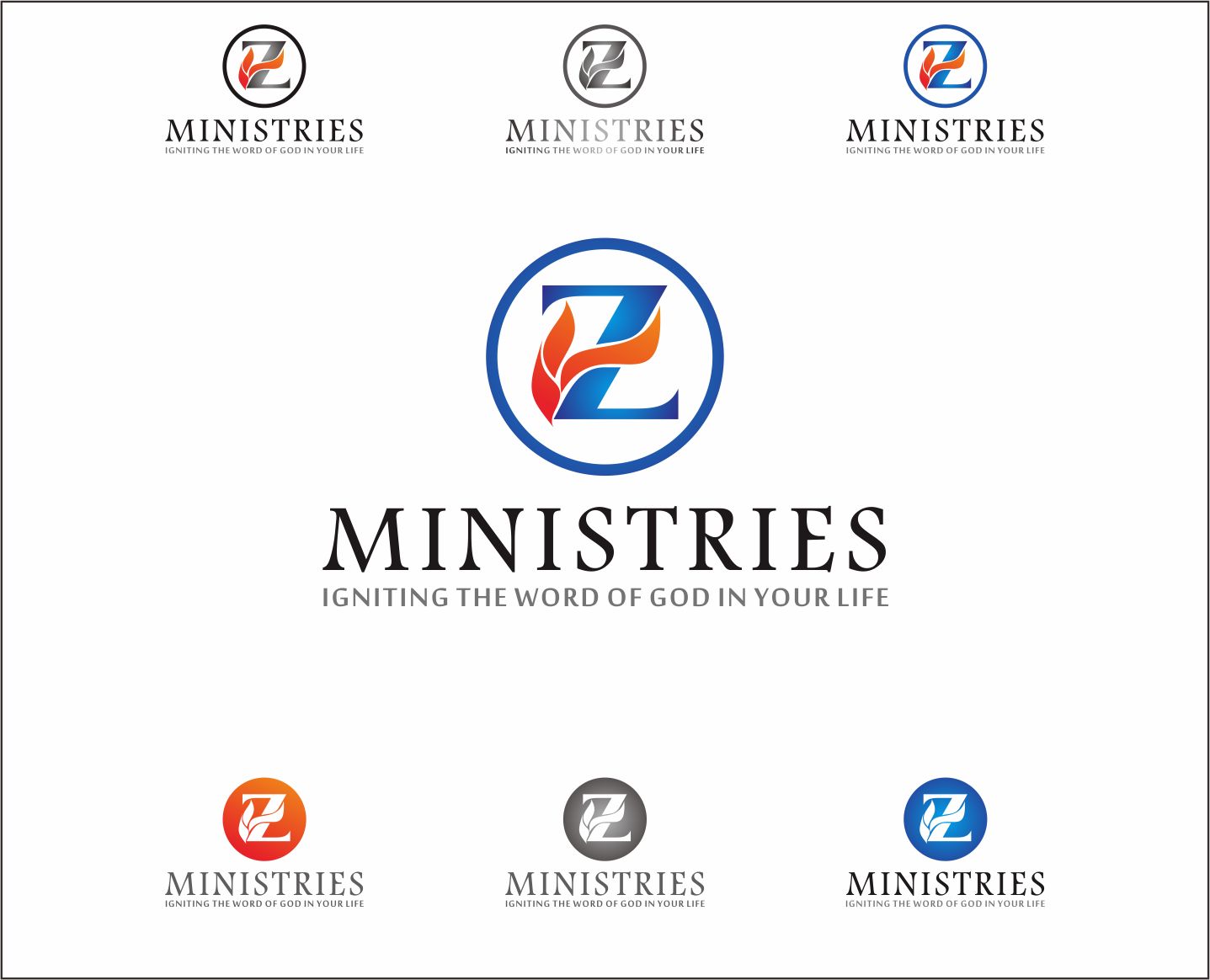 Logo Design by Armada Jamaluddin - Entry No. 169 in the Logo Design Contest Artistic Logo Design for Z Ministries.