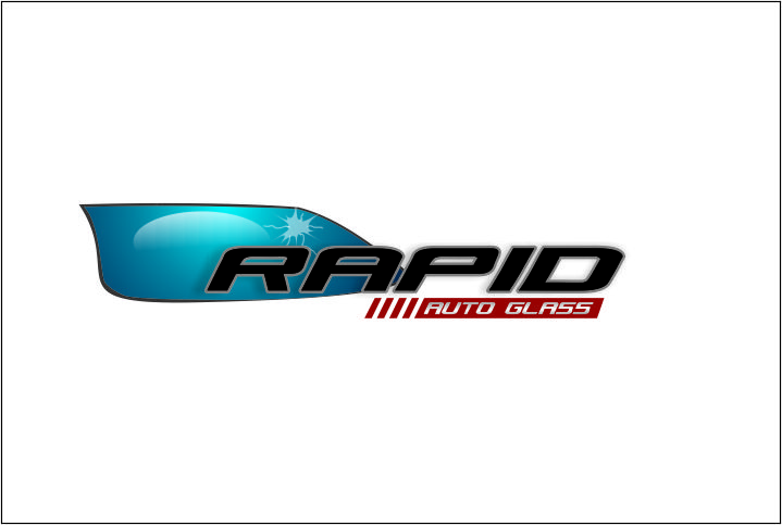 Logo Design by Agus Martoyo - Entry No. 128 in the Logo Design Contest Unique Logo Design Wanted for Rapid Auto Glass.