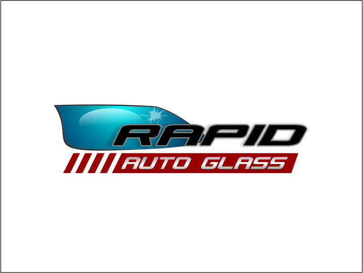Logo Design by Agus Martoyo - Entry No. 129 in the Logo Design Contest Unique Logo Design Wanted for Rapid Auto Glass.