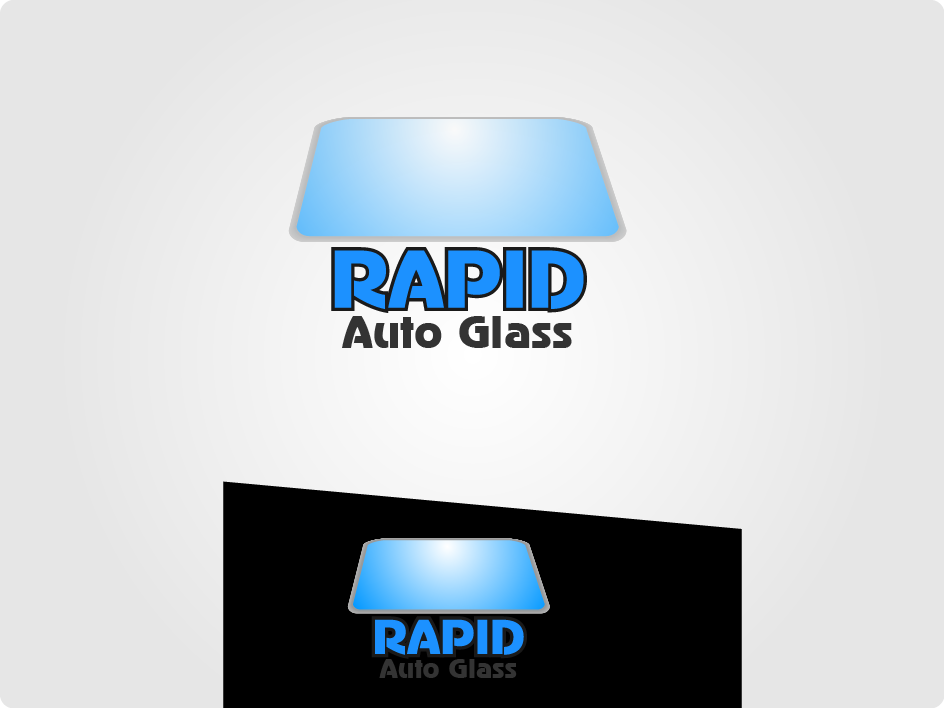 Logo Design by Private User - Entry No. 135 in the Logo Design Contest Unique Logo Design Wanted for Rapid Auto Glass.