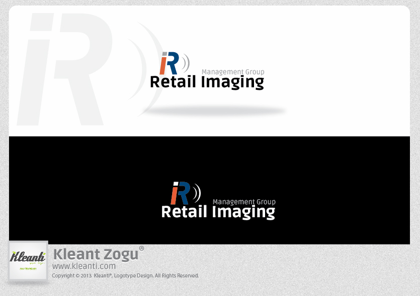 Logo Design by Kleant Zogu - Entry No. 82 in the Logo Design Contest Creative Logo Design for Retail Imaging Management Group (R.I.M.G.).