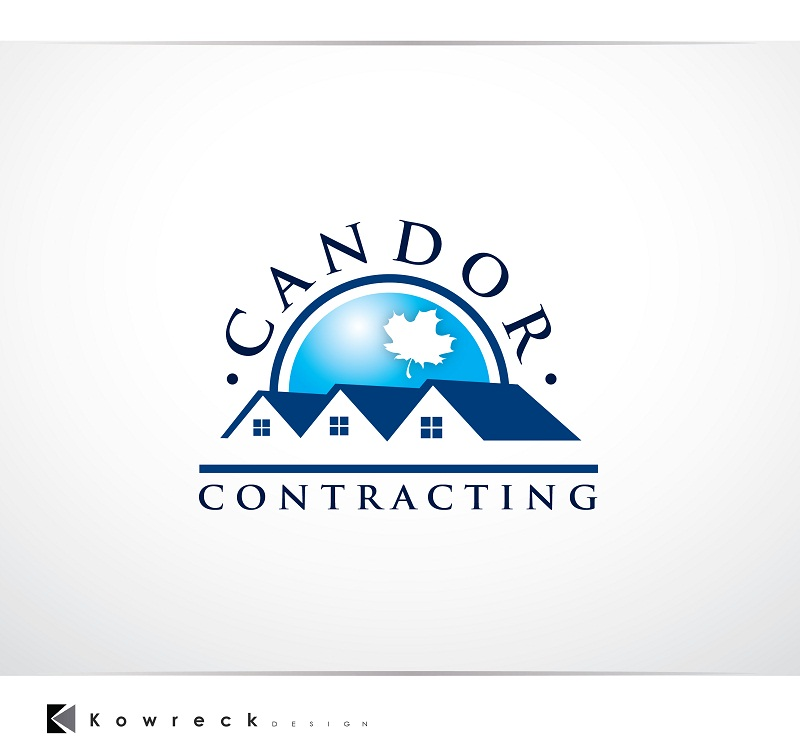 Logo Design by kowreck - Entry No. 60 in the Logo Design Contest Unique Logo Design Wanted for Candor Contracting.