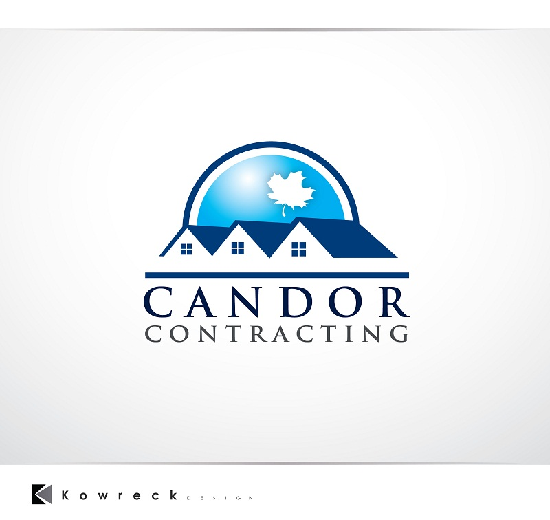 Logo Design by kowreck - Entry No. 61 in the Logo Design Contest Unique Logo Design Wanted for Candor Contracting.