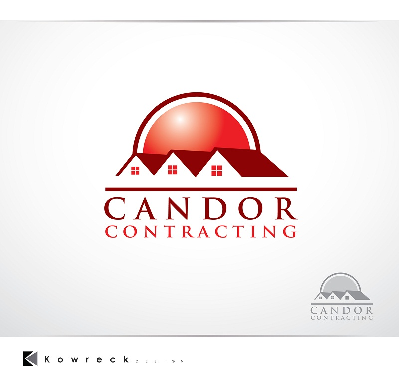 Logo Design by kowreck - Entry No. 63 in the Logo Design Contest Unique Logo Design Wanted for Candor Contracting.