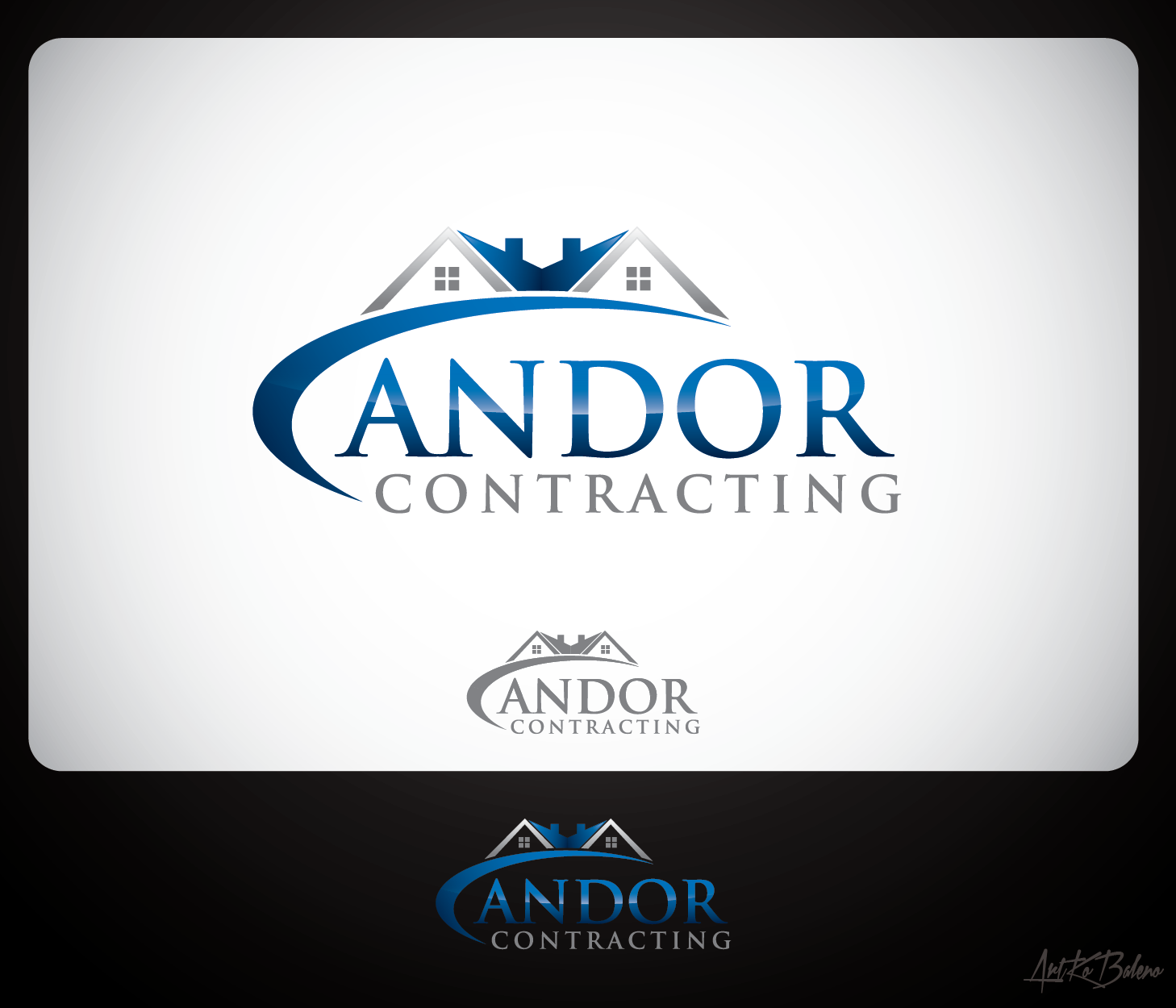 Logo Design by Private User - Entry No. 64 in the Logo Design Contest Unique Logo Design Wanted for Candor Contracting.