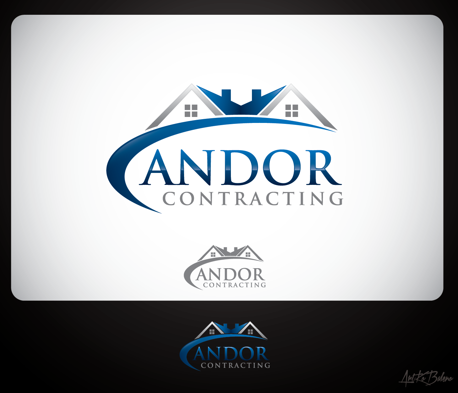 Logo Design by Private User - Entry No. 66 in the Logo Design Contest Unique Logo Design Wanted for Candor Contracting.