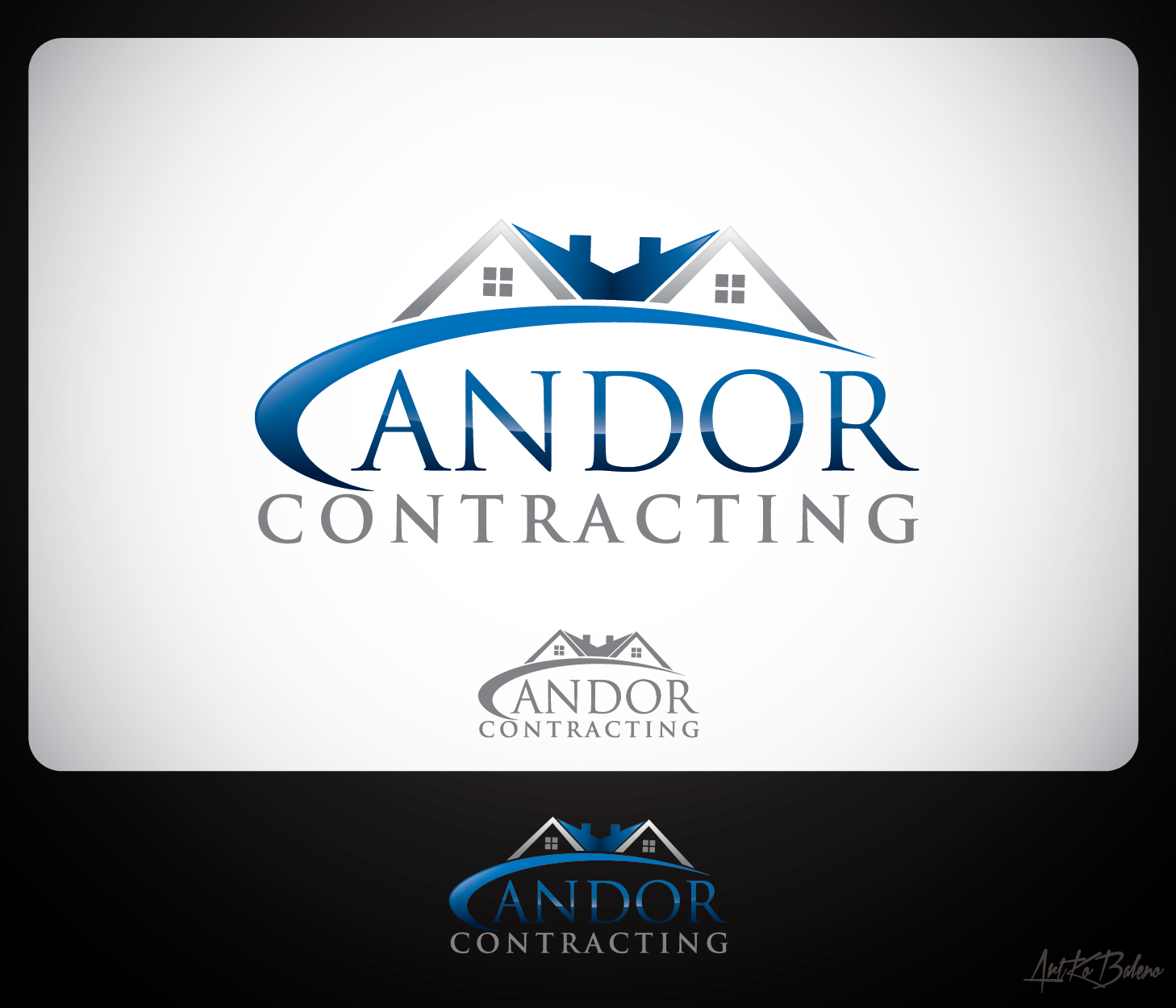 Logo Design by Private User - Entry No. 68 in the Logo Design Contest Unique Logo Design Wanted for Candor Contracting.