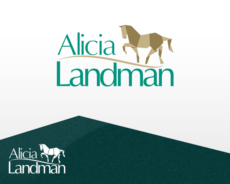 Logo Design by Dije Eki - Entry No. 84 in the Logo Design Contest Fun Logo Design for Alicia Landman.