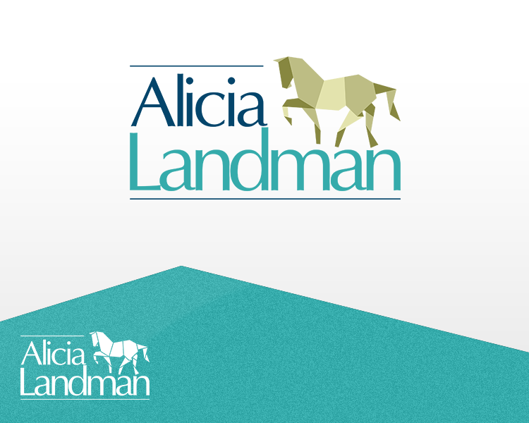 Logo Design by Dije Eki - Entry No. 85 in the Logo Design Contest Fun Logo Design for Alicia Landman.