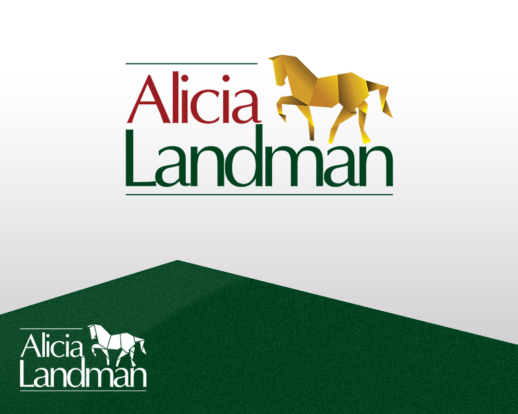 Logo Design by Dije Eki - Entry No. 86 in the Logo Design Contest Fun Logo Design for Alicia Landman.