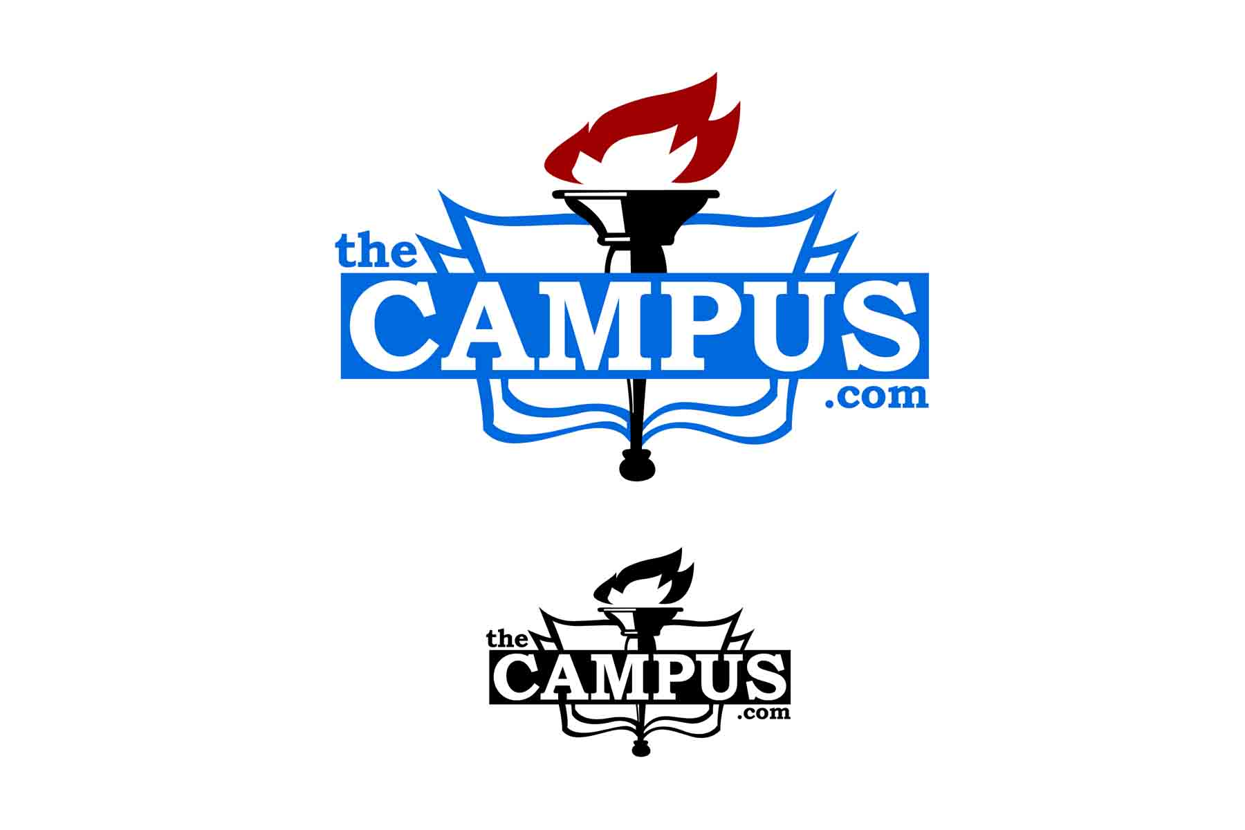 Logo Design by Private User - Entry No. 55 in the Logo Design Contest theCampus Logo Design.