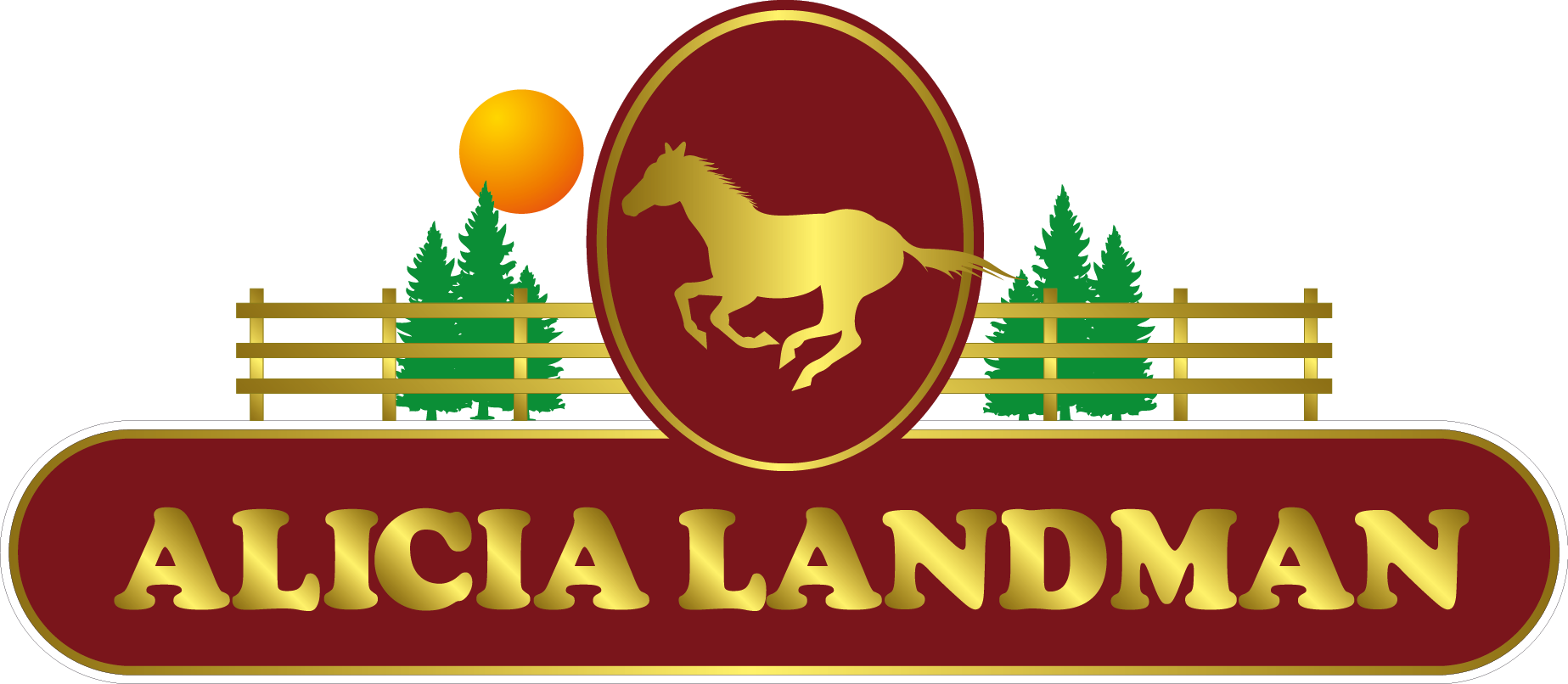 Logo Design by Private User - Entry No. 87 in the Logo Design Contest Fun Logo Design for Alicia Landman.