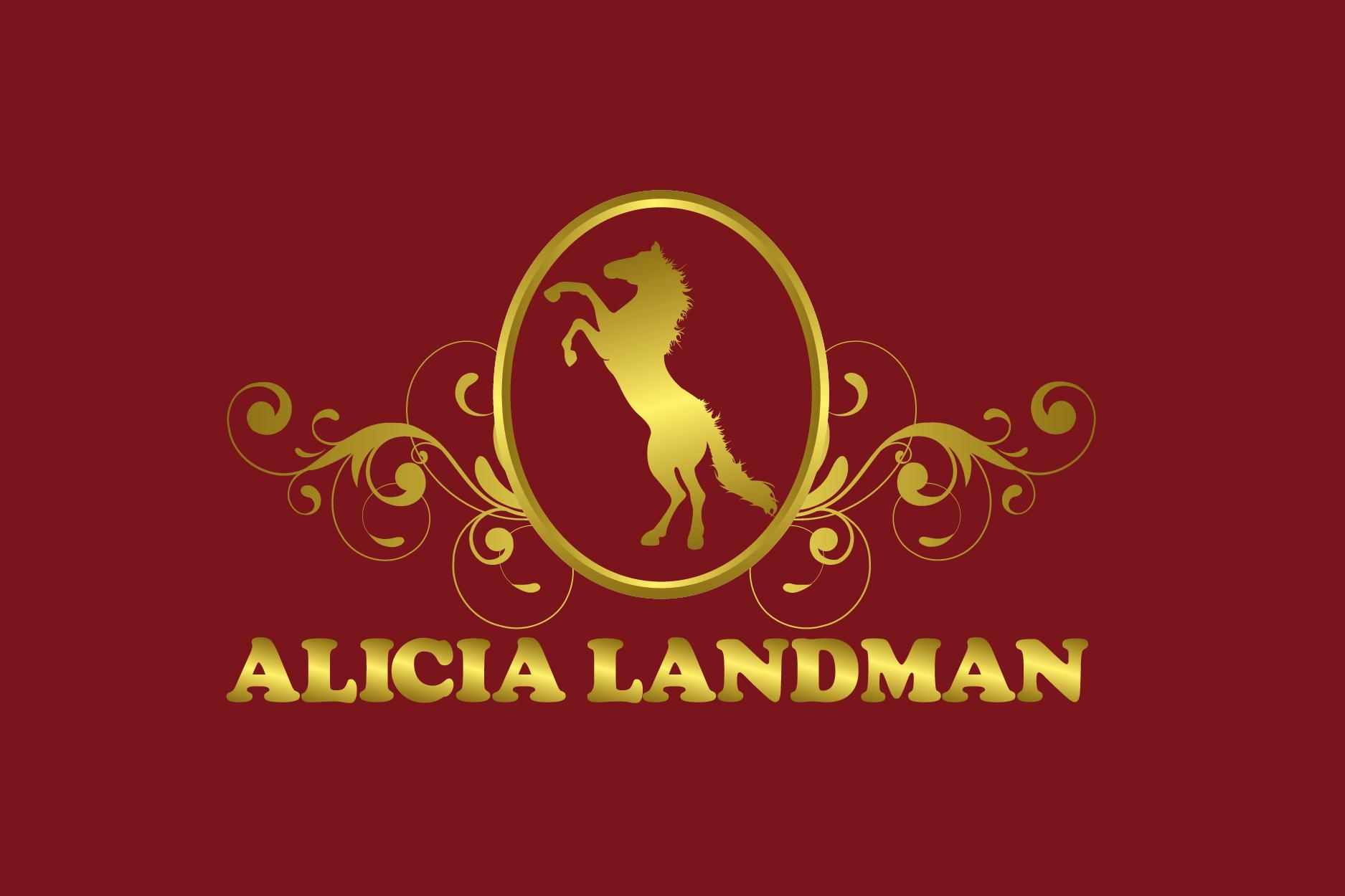 Logo Design by Private User - Entry No. 89 in the Logo Design Contest Fun Logo Design for Alicia Landman.