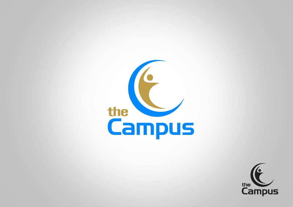 Logo Design by Respati Himawan - Entry No. 65 in the Logo Design Contest theCampus Logo Design.