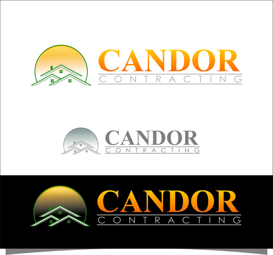 Logo Design by RasYa Muhammad Athaya - Entry No. 71 in the Logo Design Contest Unique Logo Design Wanted for Candor Contracting.