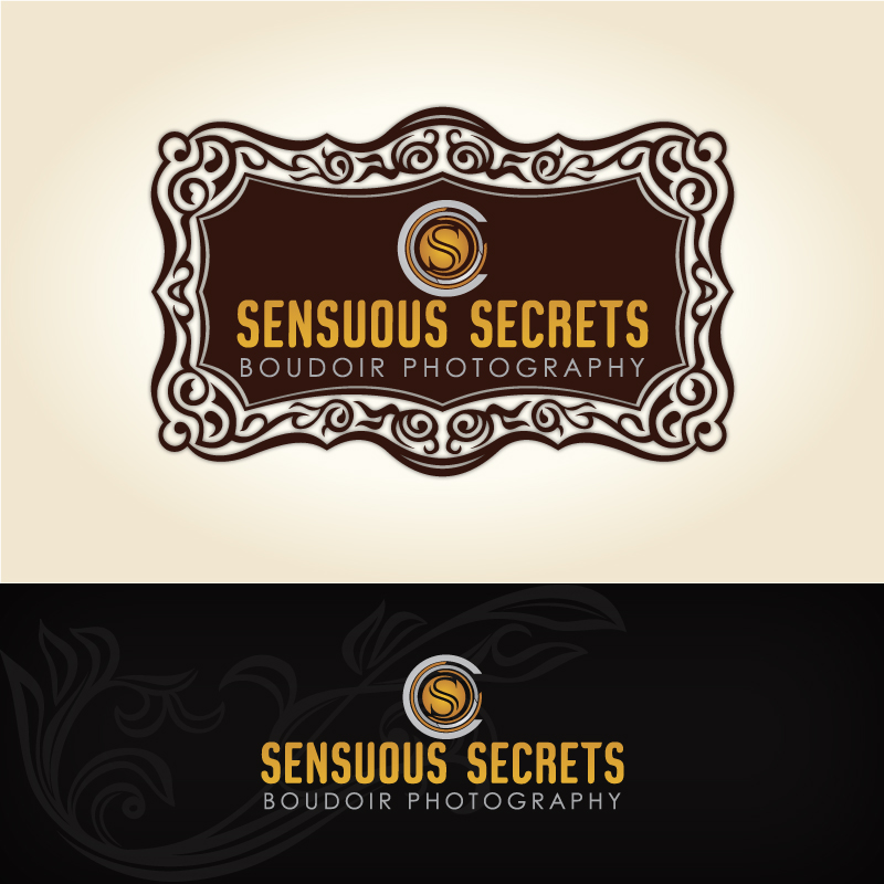 Logo Design by Shujaat Jaffri - Entry No. 45 in the Logo Design Contest Artistic Logo Design for Sensuous Secrets Boudoir Photography.