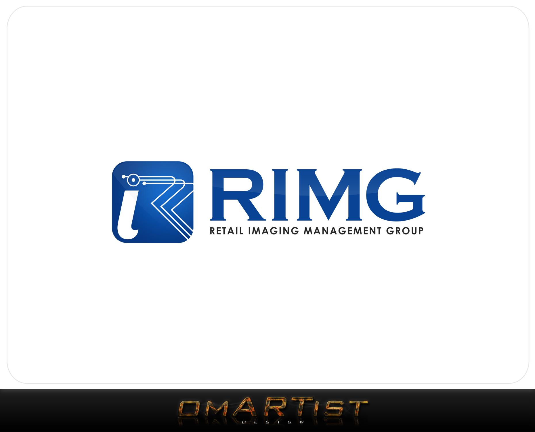 Logo Design by omARTist - Entry No. 117 in the Logo Design Contest Creative Logo Design for Retail Imaging Management Group (R.I.M.G.).