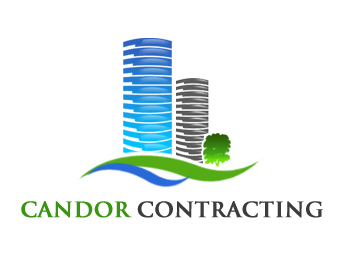 Logo Design by Crystal Desizns - Entry No. 73 in the Logo Design Contest Unique Logo Design Wanted for Candor Contracting.