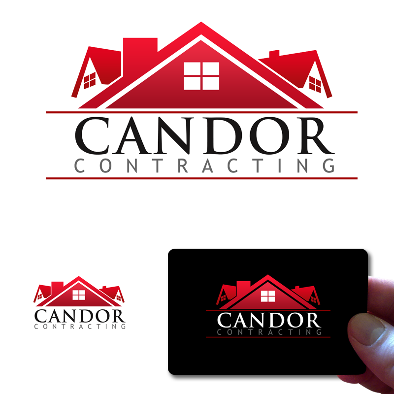 Logo Design by Private User - Entry No. 75 in the Logo Design Contest Unique Logo Design Wanted for Candor Contracting.