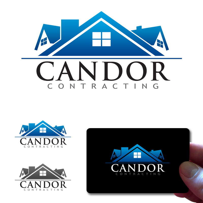 Logo Design by Private User - Entry No. 76 in the Logo Design Contest Unique Logo Design Wanted for Candor Contracting.