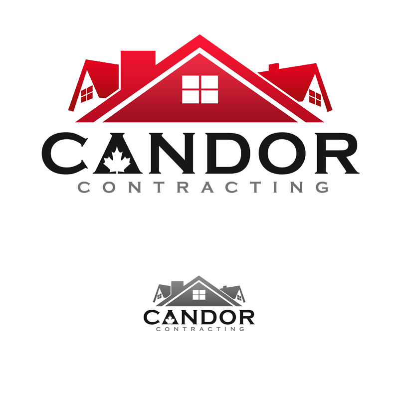 Logo Design by Robert Turla - Entry No. 77 in the Logo Design Contest Unique Logo Design Wanted for Candor Contracting.