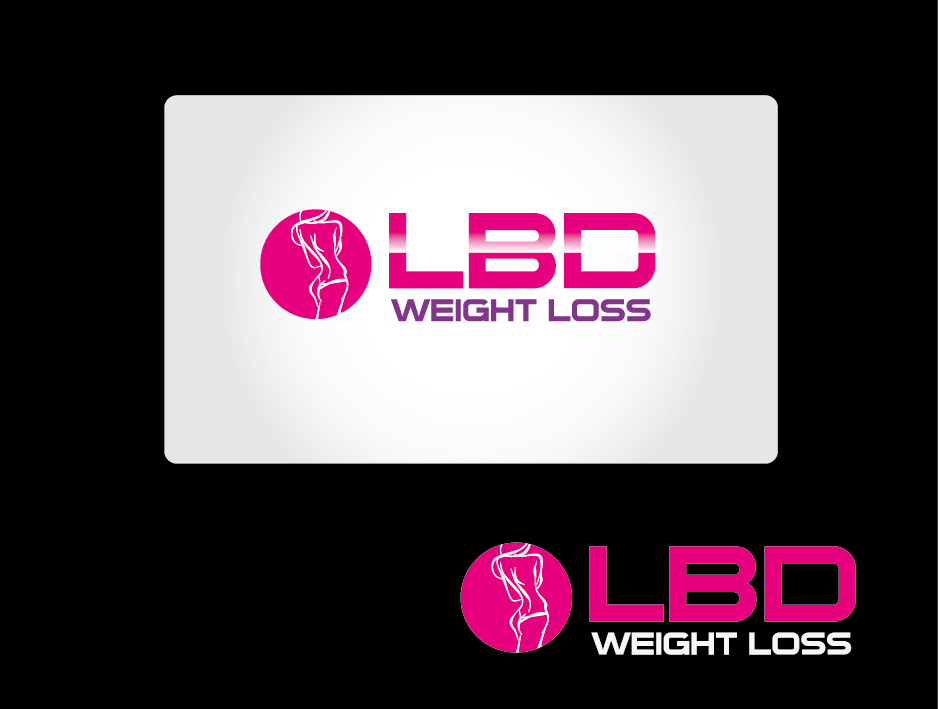 Logo Design by Private User - Entry No. 14 in the Logo Design Contest Imaginative Logo Design for LBD Weight Loss.