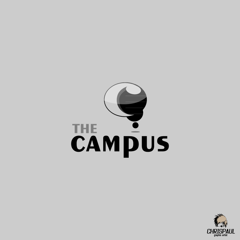 Logo Design by zesthar - Entry No. 76 in the Logo Design Contest theCampus Logo Design.