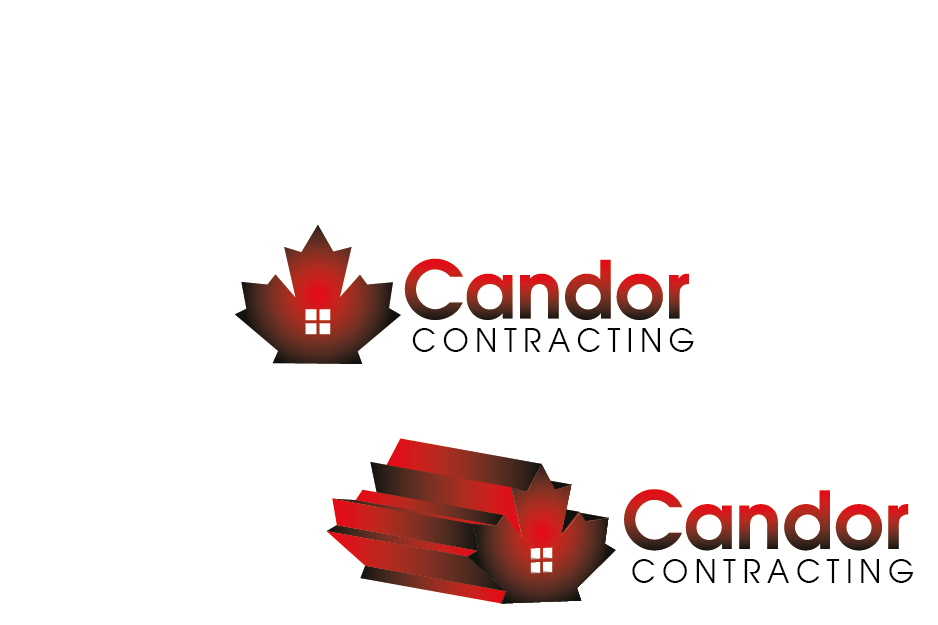 Logo Design by Private User - Entry No. 83 in the Logo Design Contest Unique Logo Design Wanted for Candor Contracting.