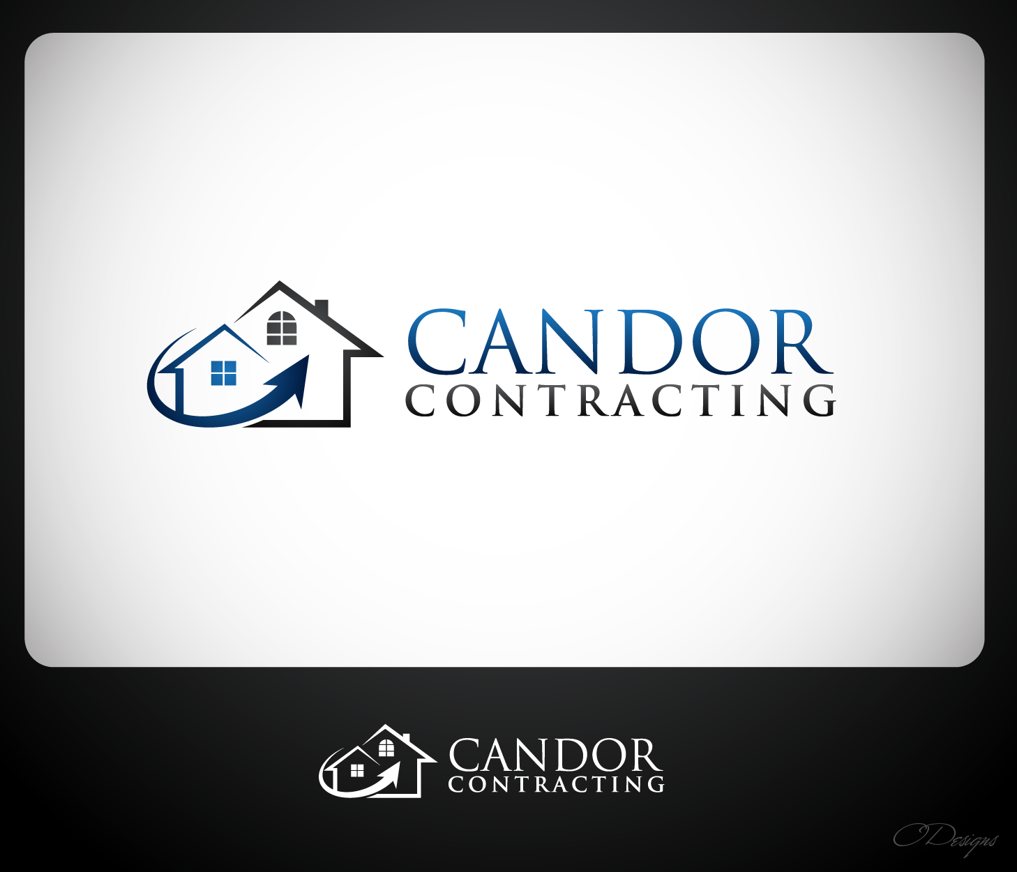 Logo Design by Private User - Entry No. 84 in the Logo Design Contest Unique Logo Design Wanted for Candor Contracting.