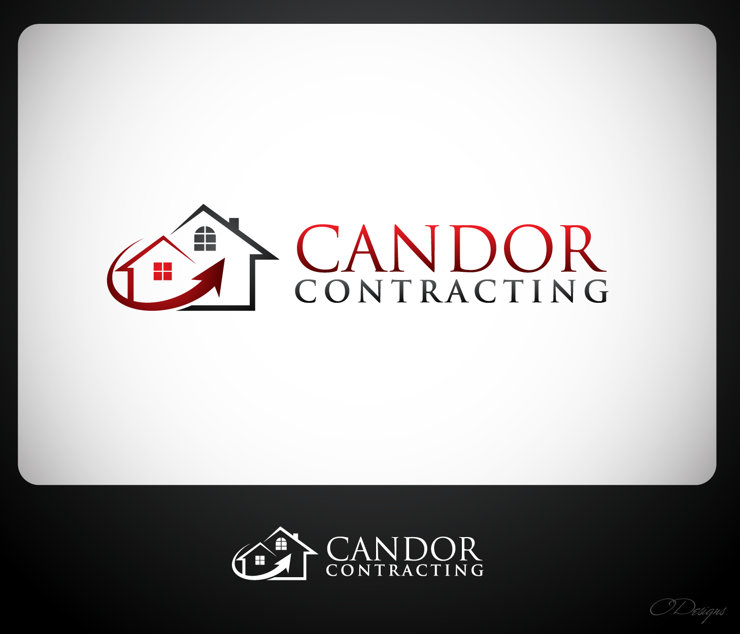 Logo Design by Private User - Entry No. 86 in the Logo Design Contest Unique Logo Design Wanted for Candor Contracting.