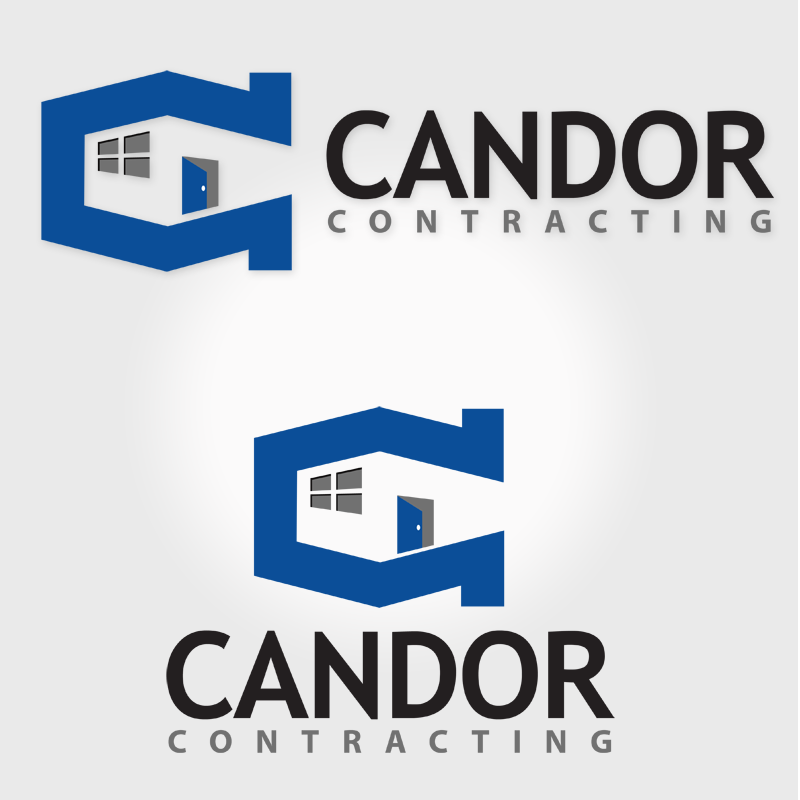 Logo Design by Robert Turla - Entry No. 88 in the Logo Design Contest Unique Logo Design Wanted for Candor Contracting.