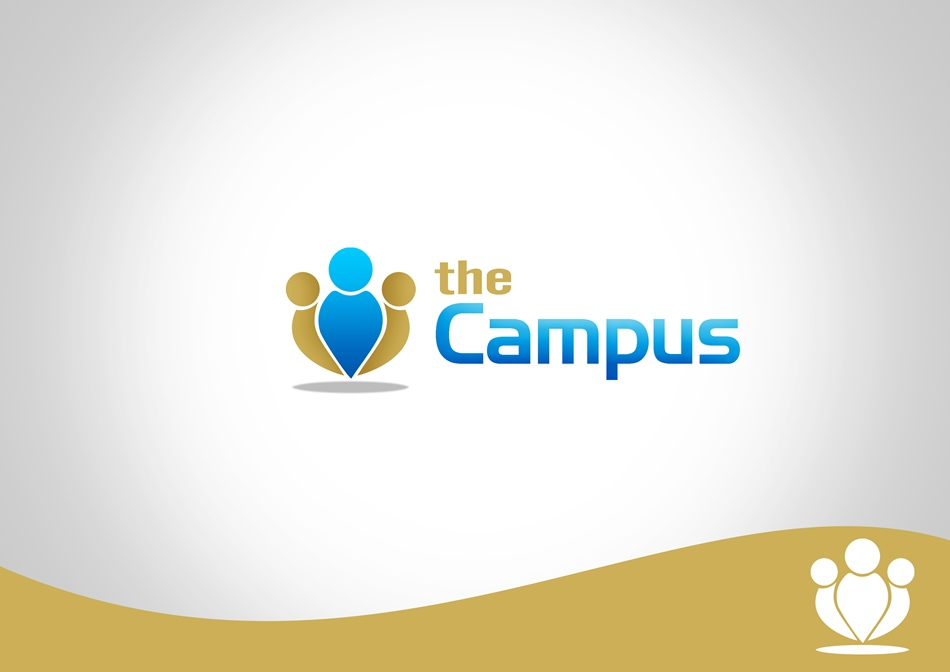 Logo Design by Respati Himawan - Entry No. 79 in the Logo Design Contest theCampus Logo Design.