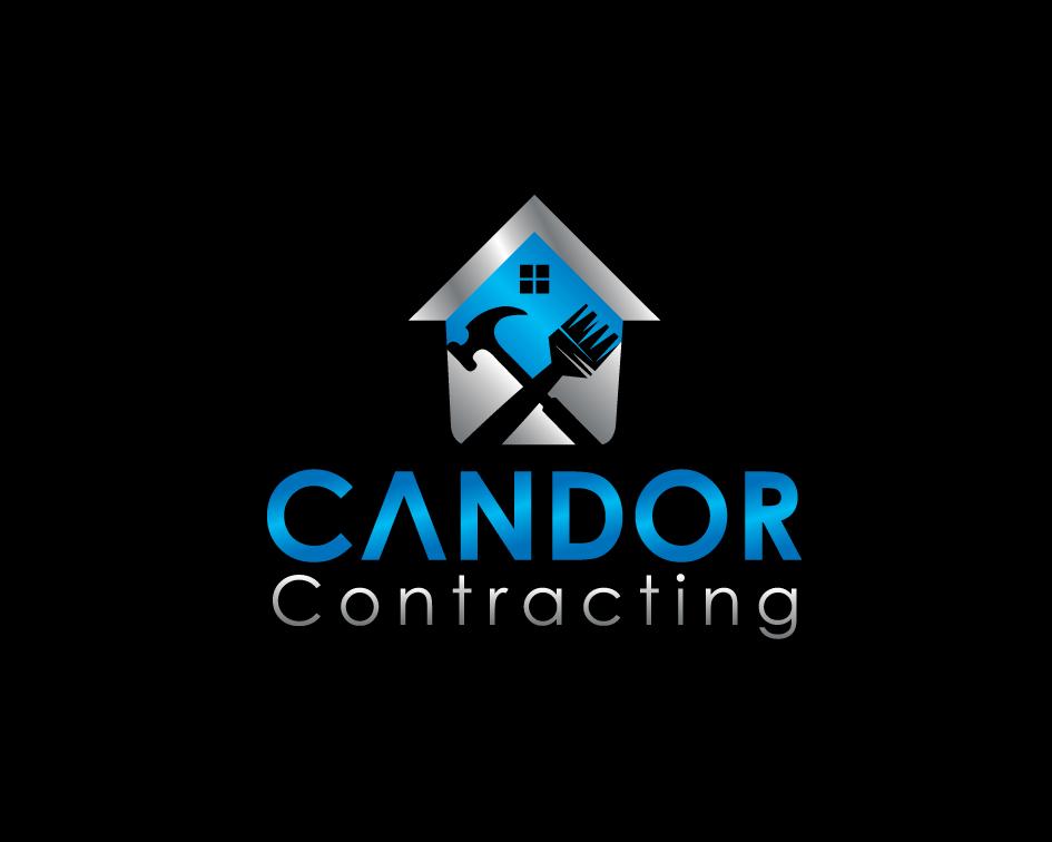 Logo Design by Yusuf Nurochim - Entry No. 89 in the Logo Design Contest Unique Logo Design Wanted for Candor Contracting.