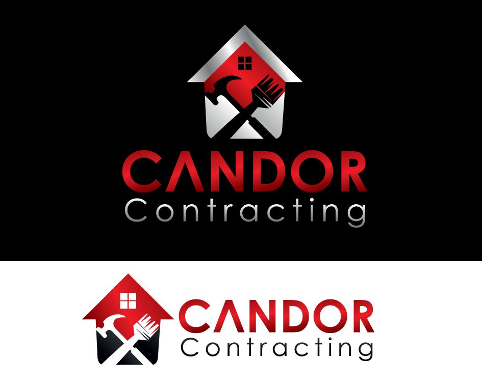 Logo Design by Yusuf Nurochim - Entry No. 91 in the Logo Design Contest Unique Logo Design Wanted for Candor Contracting.