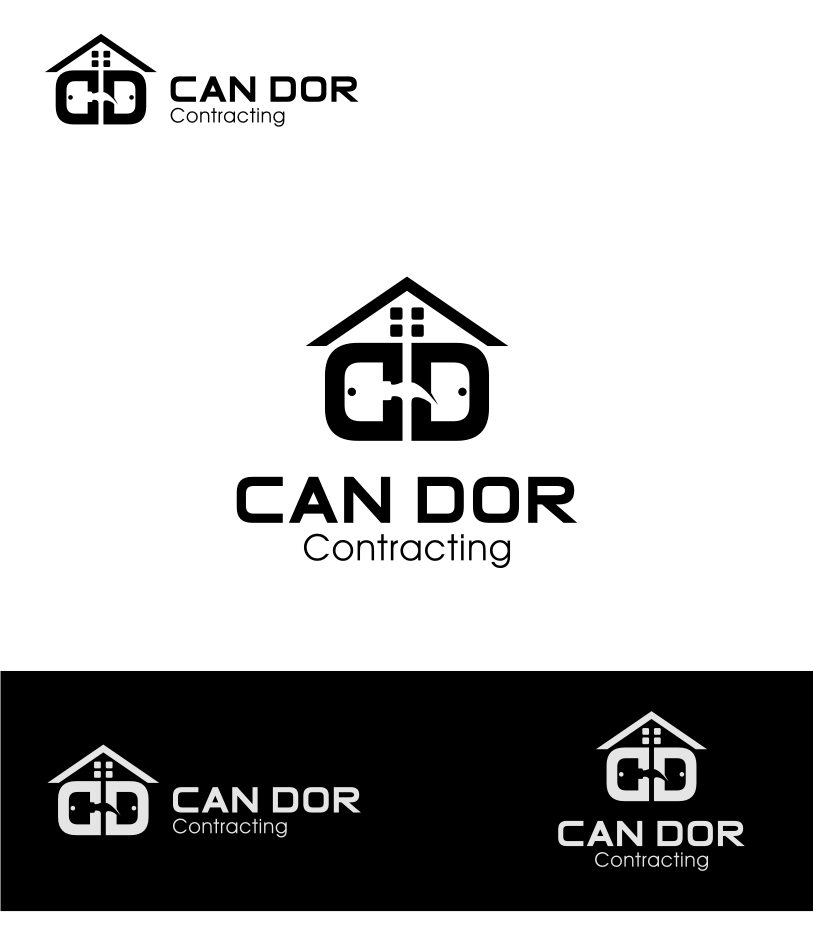 Logo Design by graphicleaf - Entry No. 93 in the Logo Design Contest Unique Logo Design Wanted for Candor Contracting.