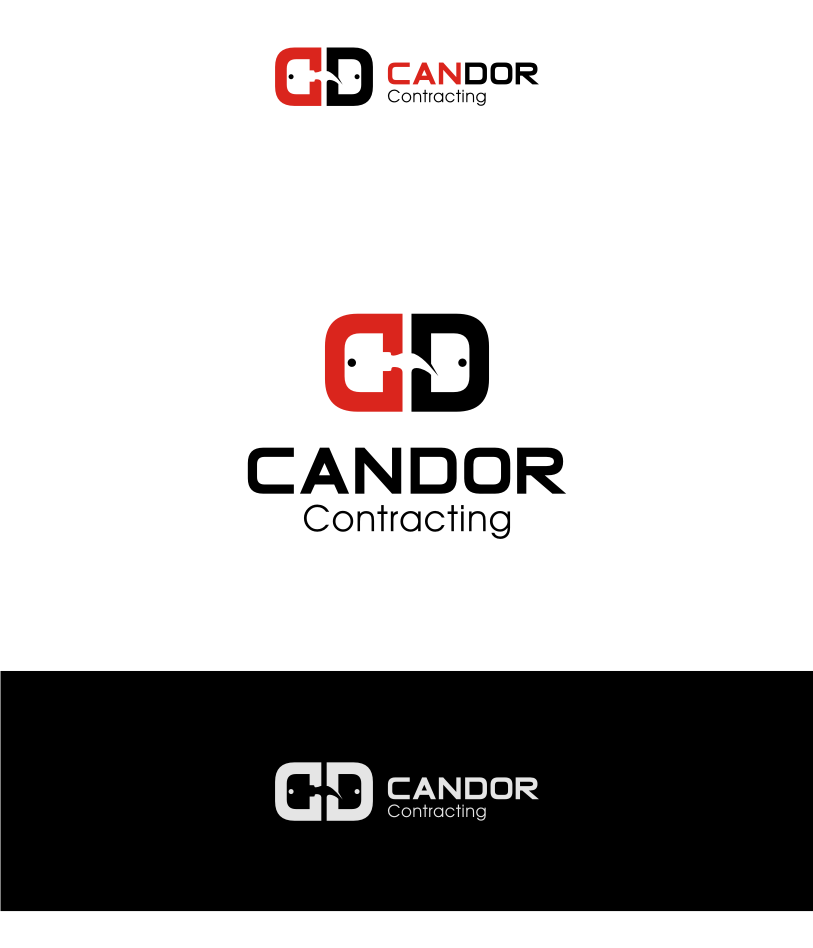 Logo Design by Muhammad Nasrul chasib - Entry No. 94 in the Logo Design Contest Unique Logo Design Wanted for Candor Contracting.
