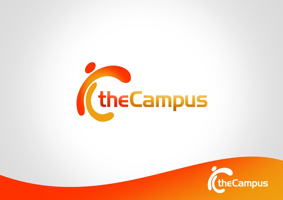Logo Design by Respati Himawan - Entry No. 84 in the Logo Design Contest theCampus Logo Design.