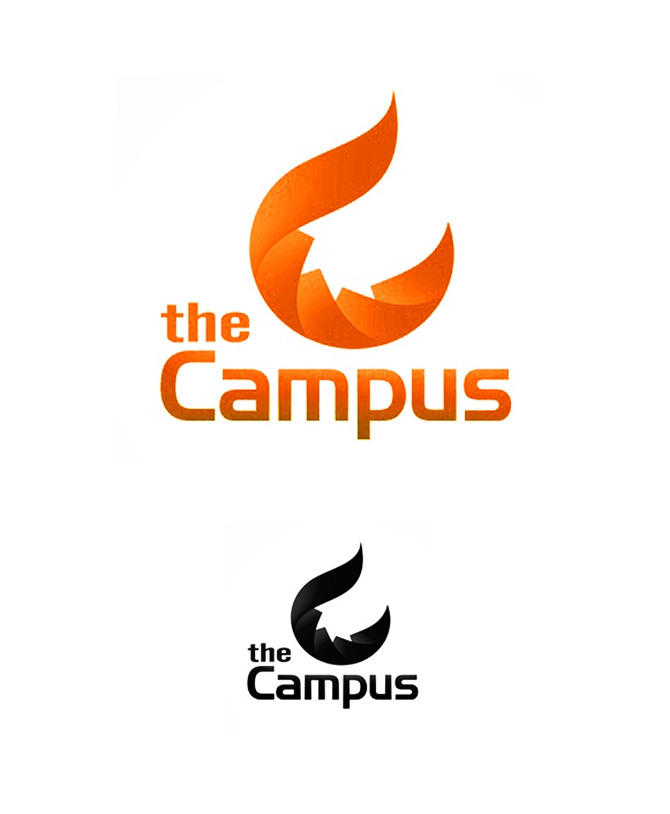 Logo Design by Respati Himawan - Entry No. 86 in the Logo Design Contest theCampus Logo Design.