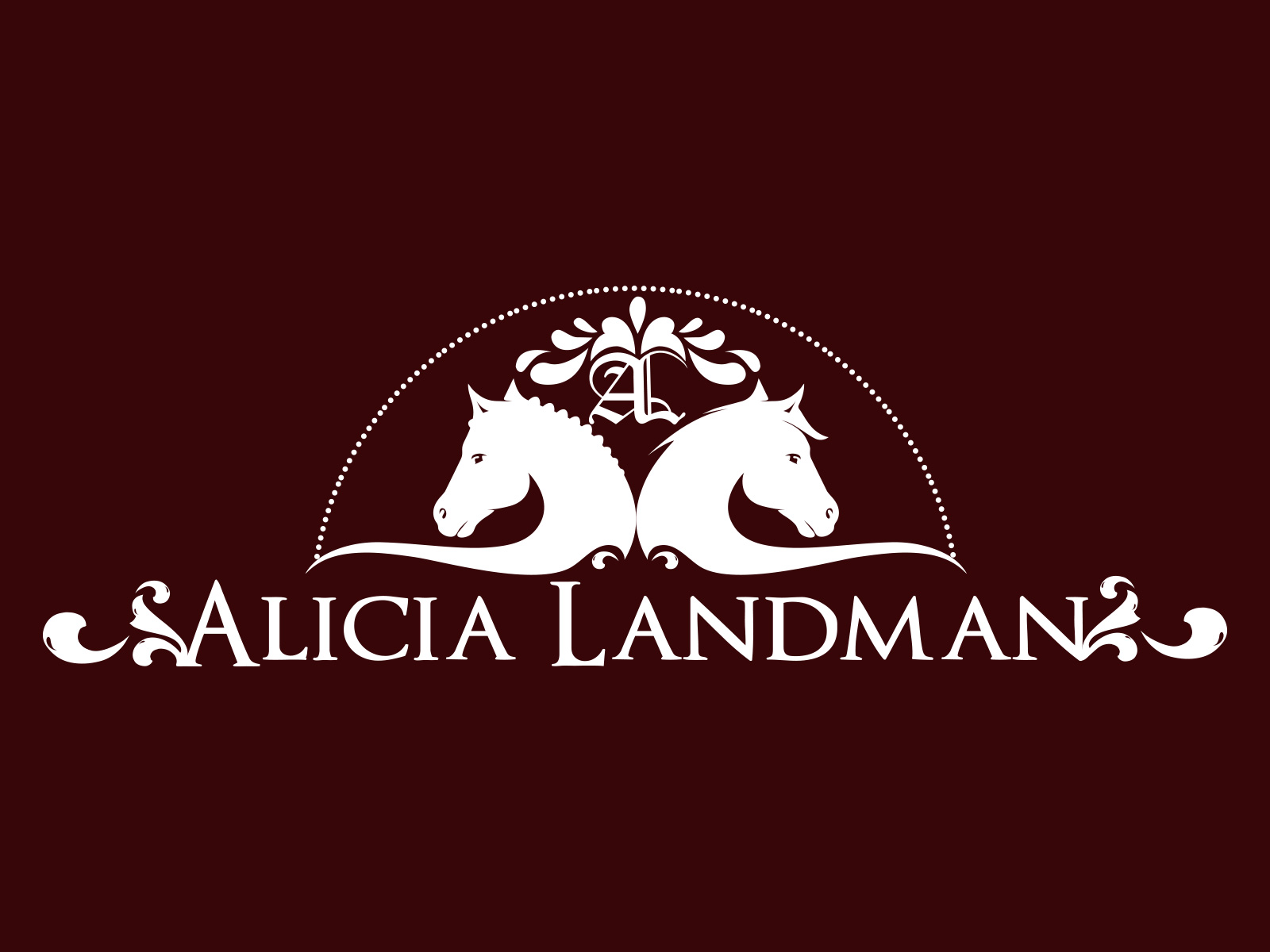 Logo Design by olii - Entry No. 96 in the Logo Design Contest Fun Logo Design for Alicia Landman.