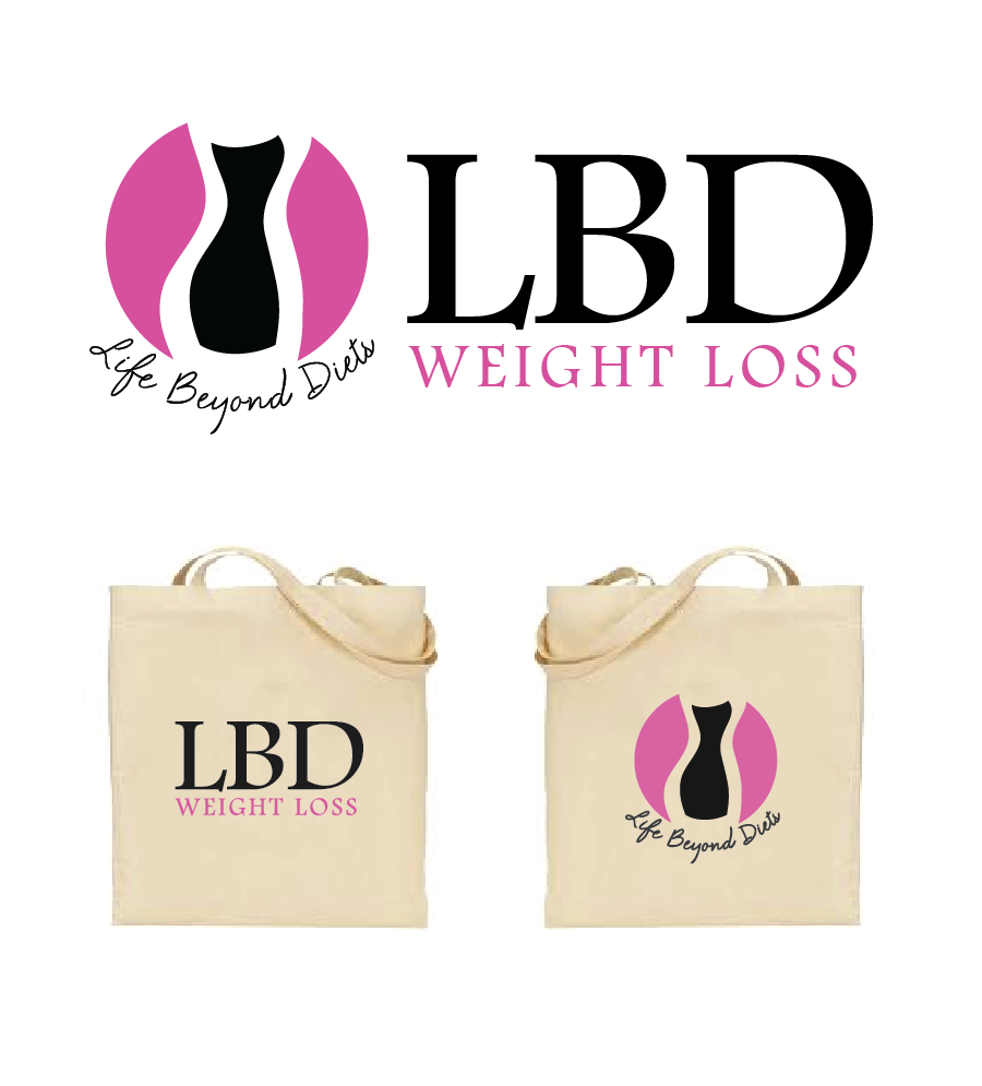 Logo Design by Christina Evans - Entry No. 19 in the Logo Design Contest Imaginative Logo Design for LBD Weight Loss.