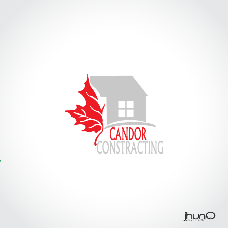 Logo Design by zesthar - Entry No. 95 in the Logo Design Contest Unique Logo Design Wanted for Candor Contracting.