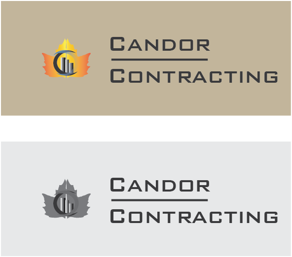Logo Design by zorrojr_2013 - Entry No. 98 in the Logo Design Contest Unique Logo Design Wanted for Candor Contracting.