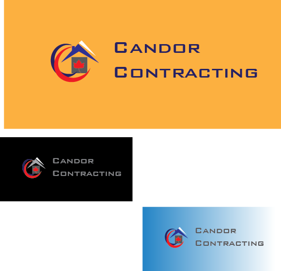 Logo Design by zorrojr_2013 - Entry No. 99 in the Logo Design Contest Unique Logo Design Wanted for Candor Contracting.