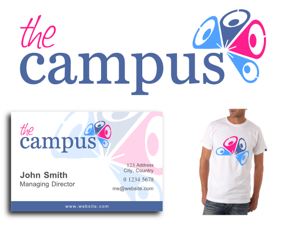 Logo Design by explogos - Entry No. 92 in the Logo Design Contest theCampus Logo Design.