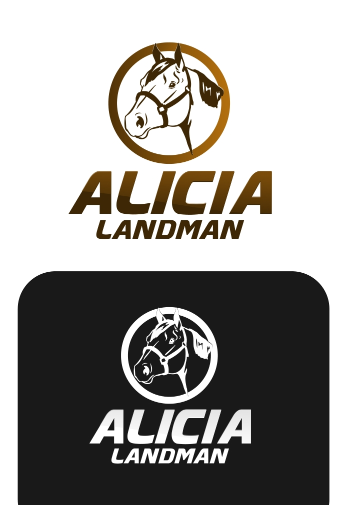 Logo Design by Private User - Entry No. 100 in the Logo Design Contest Fun Logo Design for Alicia Landman.