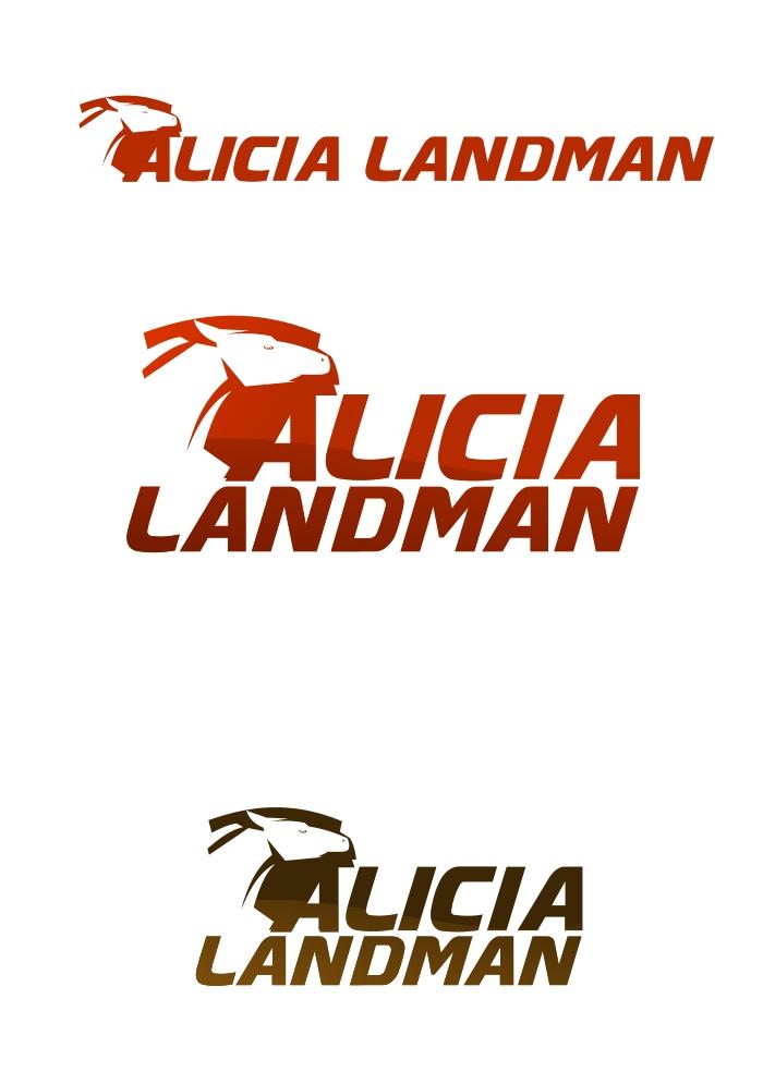 Logo Design by Private User - Entry No. 102 in the Logo Design Contest Fun Logo Design for Alicia Landman.