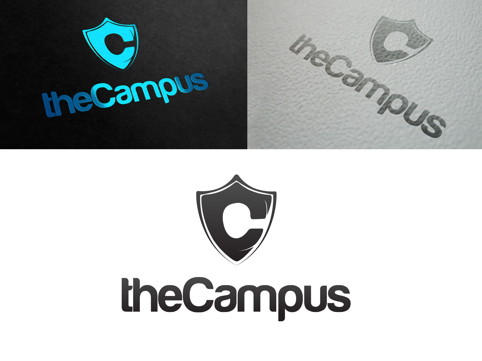 Logo Design by olii - Entry No. 99 in the Logo Design Contest theCampus Logo Design.
